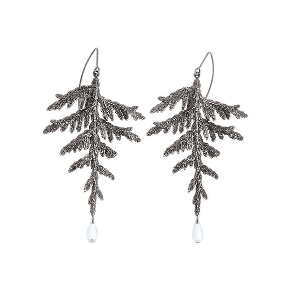 Handmade earrings  from Thuja collection by ORSKA jewelry  TK38
