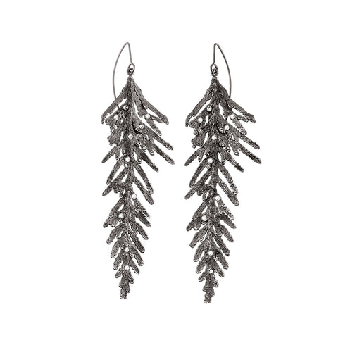 Handmade earrings  from Thuja collection by ORSKA jewelry  TK42