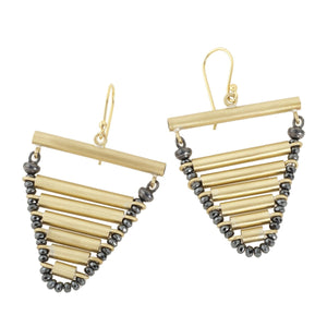 Earrings from Astro collection - AK32-2