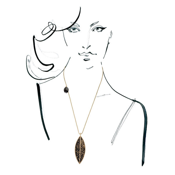 Necklace from Etnoart collection - EAN64-4