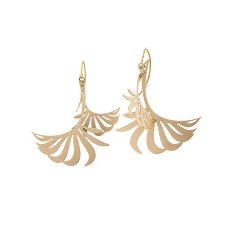 Earrings from Plantis collection - PLK32-4