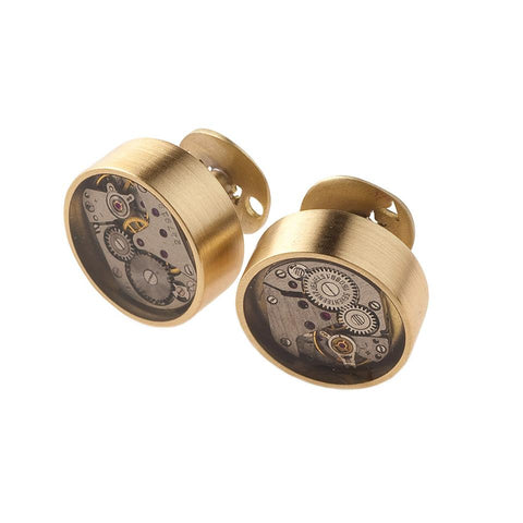 Artistic cufflink from Vintage collection by ORSKA jewelry VK52-1