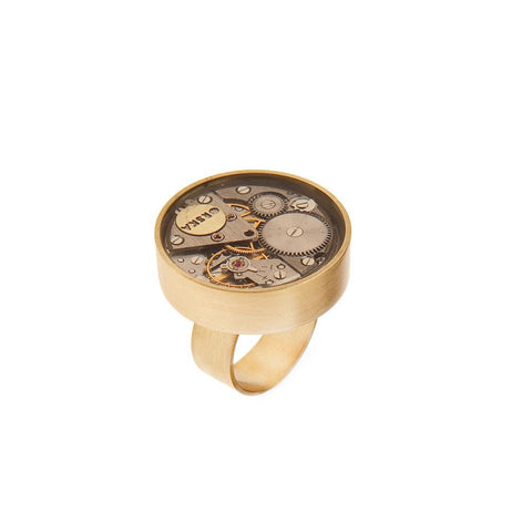 Artistic ring from Vintage collection by ORSKA jewelry VP48