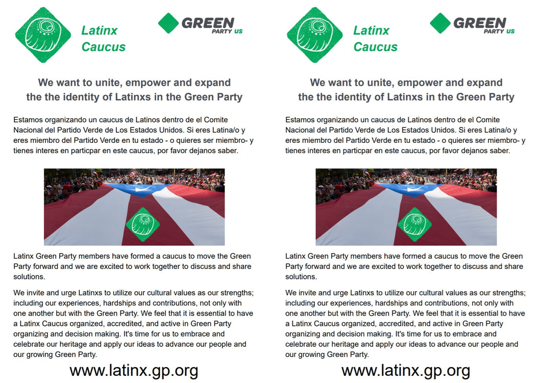 Latinx Caucus of GPUS - Download