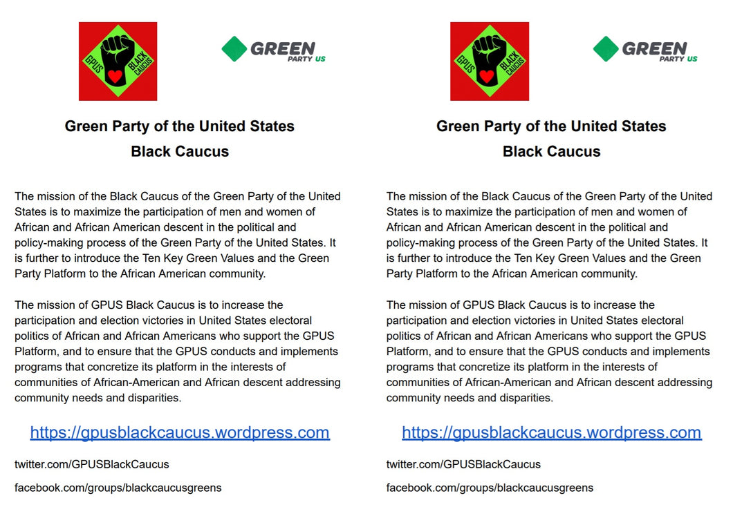Black Caucus of GPUS - Download