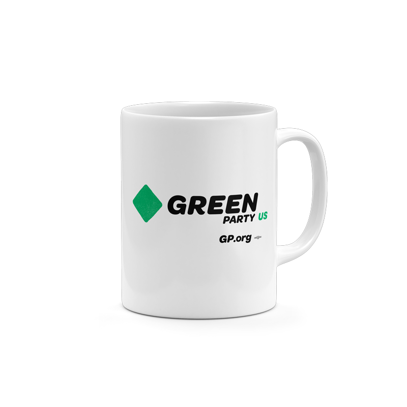 Green Party Logo Mug