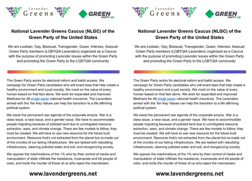 National Lavender Greens Caucus of GPUS - Download