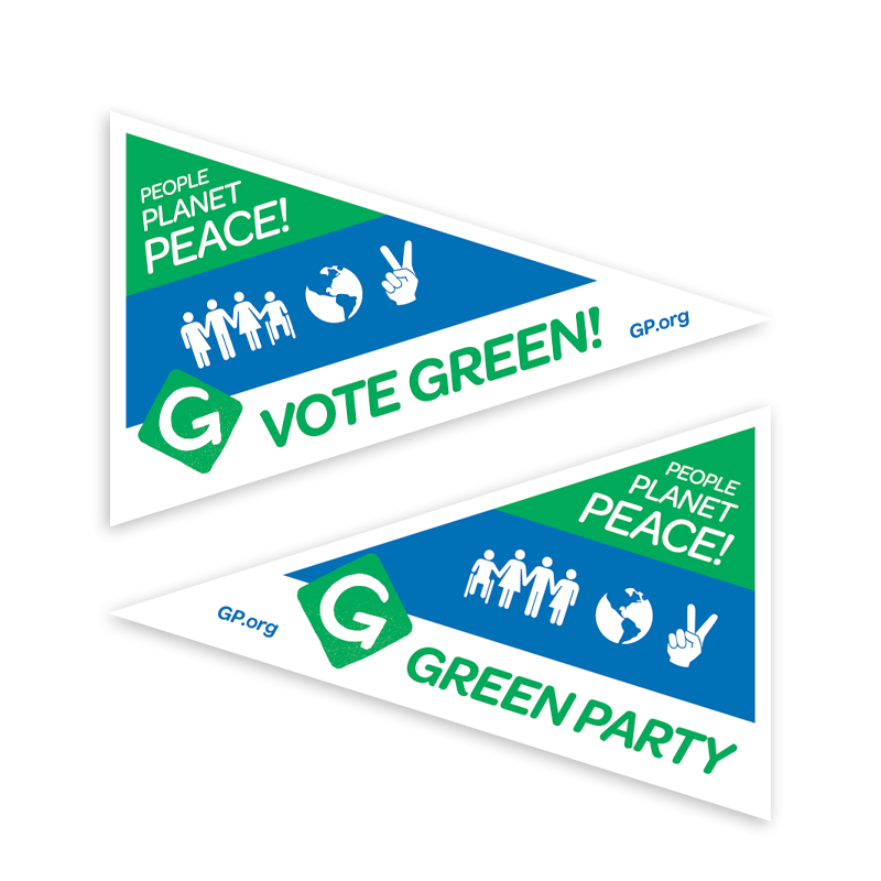 People, Planet, Peace Pennant - Download