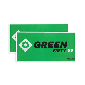 GPUS Paper Sticker Pack - Green