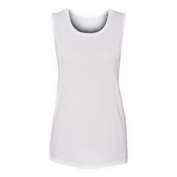 Bella + Canvas - Women's Flowy Scoop Muslce Tank