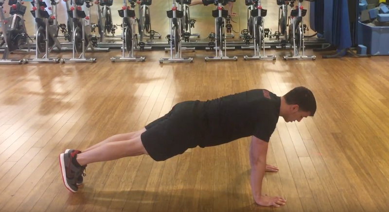 How to perform a squat, pushup, and burpee