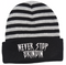 Never Stop Grindin Gray 3D Puff Beanie at