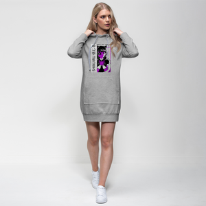 Shinjiru Anime - Purple Maid Premium Adult Hoodie Dress