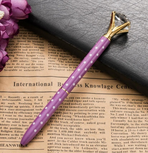 Diamond-topped ballpoint pens - USD