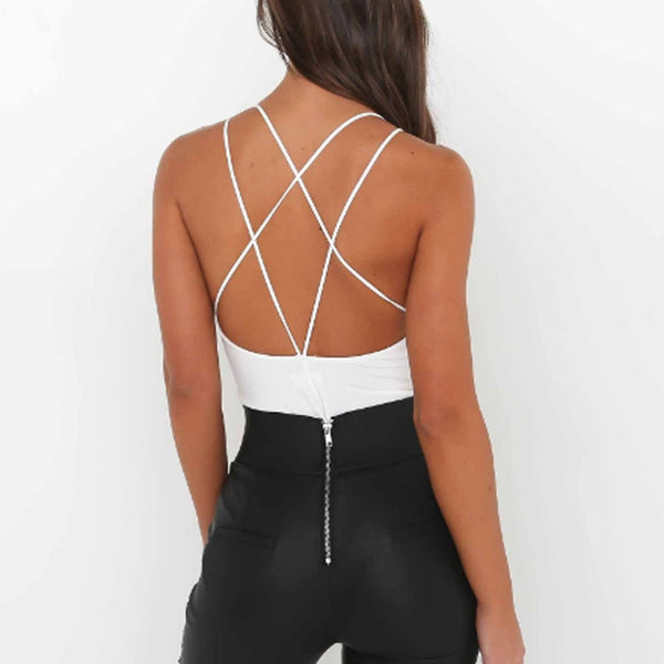 Laced Up Sexy Bodysuits