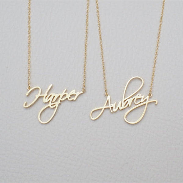 Engraved pendant (personalized w/ your loved once's name) - USD