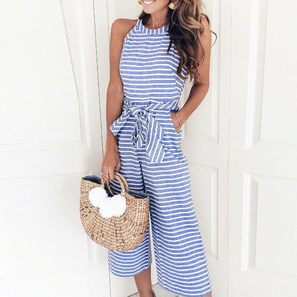 Breeze Wide Leg Pants Jumpsuit