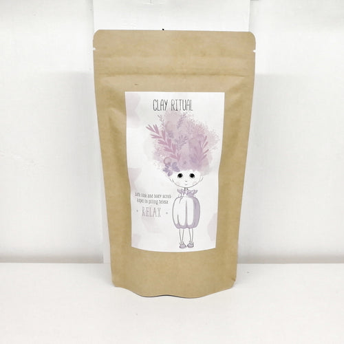 Clay Bath Soak and Body Scrub RELAX