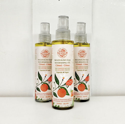 Citrus Nourishing Oil (with Jojoba and Pomegranate)