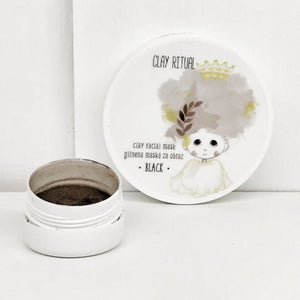 Clay Facial Mask BLACK