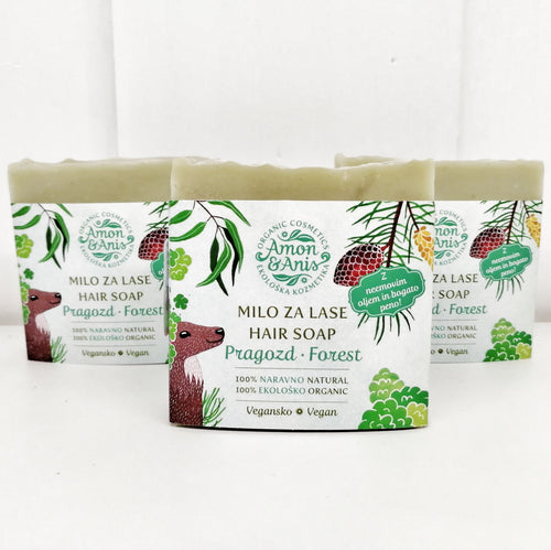 Hair Soap - Forest