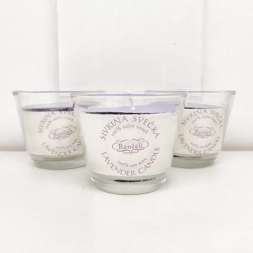 Scented Lavender Candle