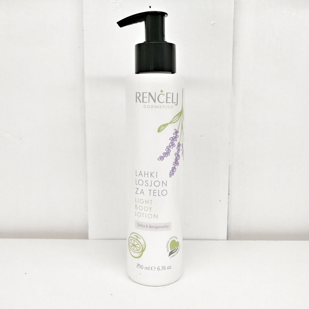 Light Body Lotion - Lavender & Bergamot