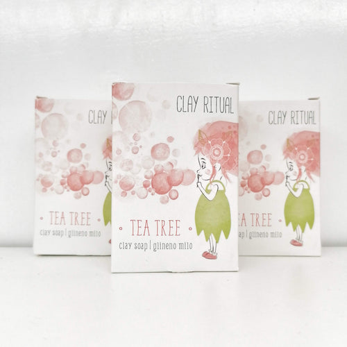 Clay Soap TEA TREE