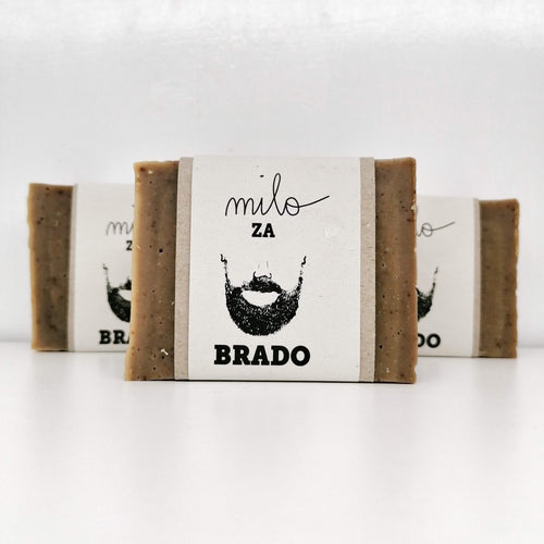 Beard Soap - Coffee/Wallnut/Ginger