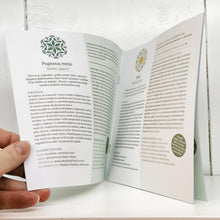 "Naloži sliko v Galerijo, Educational Booklet on Essential Oils - ""The original wisdom of plants for the benefit of man"""