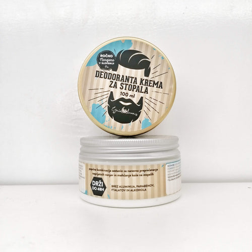 Deodorant Foot Cream - For Men
