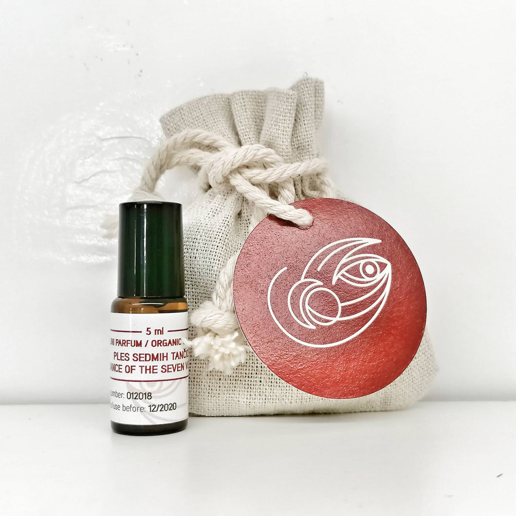 Organic Oil Perfume - The Dance of the Seven Veils