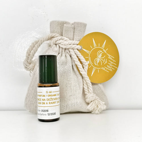 Organic Oil Perfume - Sun on a Rainy Day