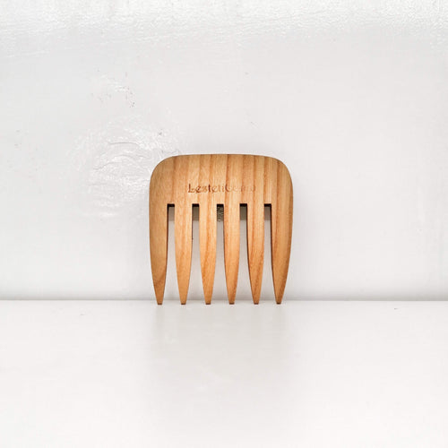 Handrcrafted Wooden Comb - Medium