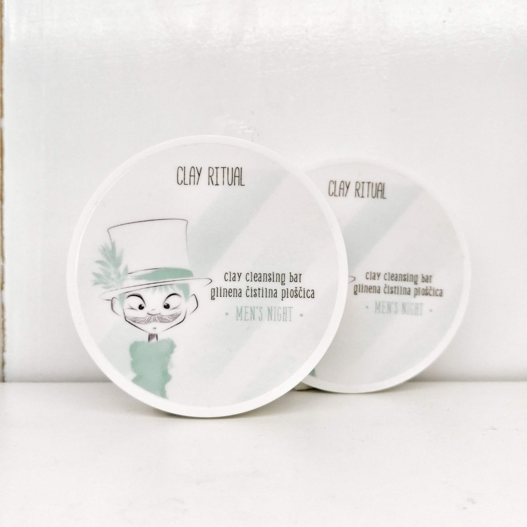 Clay Cleansing Bar MEN'S NIGHT