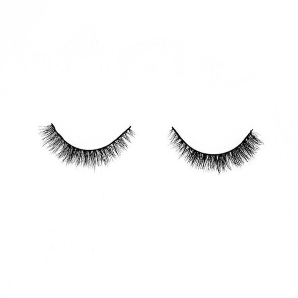 "Mocha-Medium Volume-""Mocha"" is perfect if you're looking for short length lashes without compromising a little volume. Our ""Mocha"" lashes were designed for our ladies that wear glasses. Their short length blends perfectly with your natural lashes and has added length to the outer corners for a cute cat-eye look. Also perfect for ladies that are looking to enhance their short natural lashes with a little more volume and curl. Description Handmade, Cruelty-Free, Wear up to 30x Material: 100% Mink"