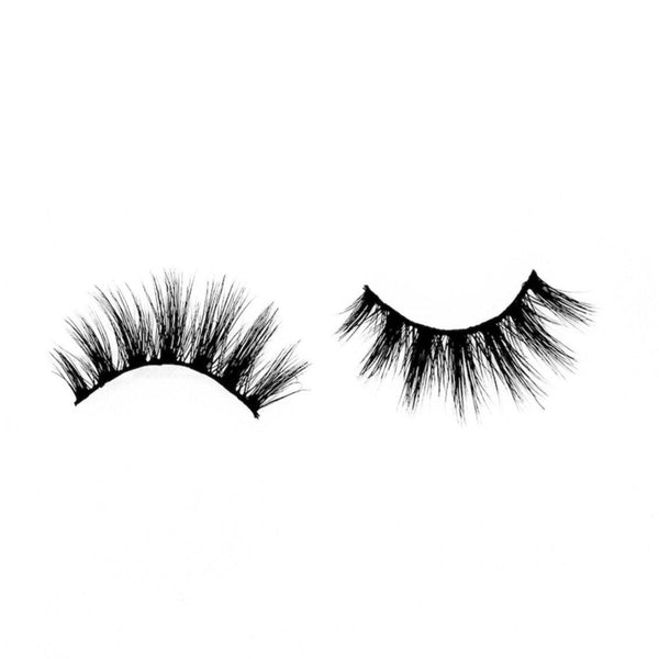 "Sassy-Medium Volume-Our ""Sassy"" lashes are an entire vibe. They're versatile and have that gorgeous wispy look that everyone loves. ""Sassy"" is a natural, flirty, medium volume lash that's designed to enhance and brighten your eyes with longer lengths towards the middle. These are a MUST HAVE for your go-to collection. Description Handmade, Cruelty-Free, Wear up to 30x Material: 100% Mink Band: Black Cotton Band Volume: Medium Style: Wispy, Open-eye, Flirty, Natural To Use: Measure and size your"