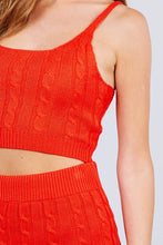 Load image into Gallery viewer, Sleeveless + Sweater Two Piece Set