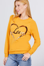 Load image into Gallery viewer, Love Sequins Pullover