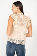 Load image into Gallery viewer, Sleeveless Lace Lining Top