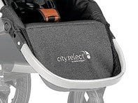 City Select Seat Footbar - Silver