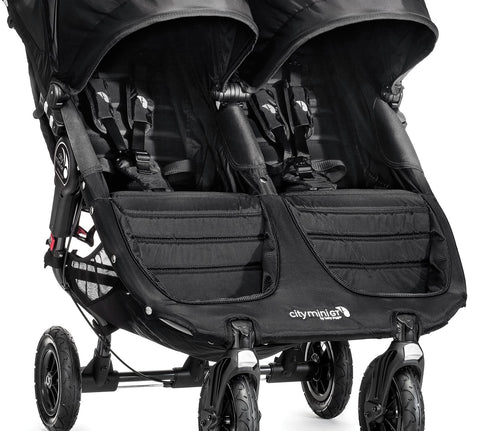 City Mini Gt Double - Black Seat Fabric