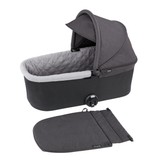 Deluxe Bassinet Foot Cover - Black