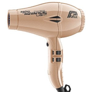 Parlux Advance Light Ceramic & Ionic Hair Dryer Gold