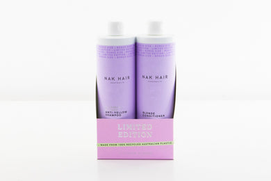 Nak Platinum Blonde 500ml Duo