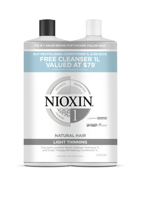 Nioxin System 1 1Ltr Duo