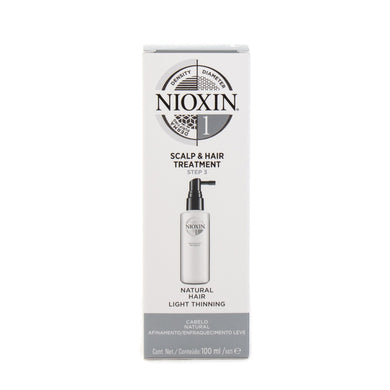 Nioxin System 1 Scalp Treatment 100ml