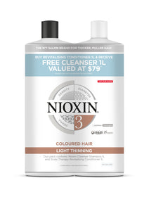Nioxin System 3 1Ltr Duo