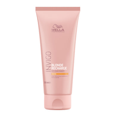 Wella Professionals Invigo Blonde Recharge Warm Blonde Color Refreshing Conditioner 200ml