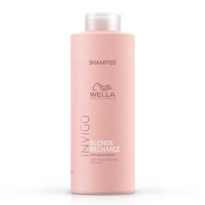 Wella Invigo Blonde Recharge Shampoo 1L